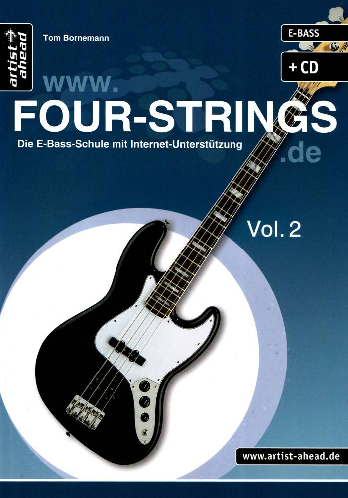 Four Strings Vol. 2 - Frontcover (4. Auflage)_H1000